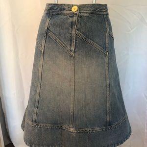 Marc jacobs denim jean skirt size 10